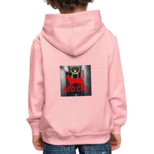 Red Cat (Deluxe) - Kids' Premium Hoodie