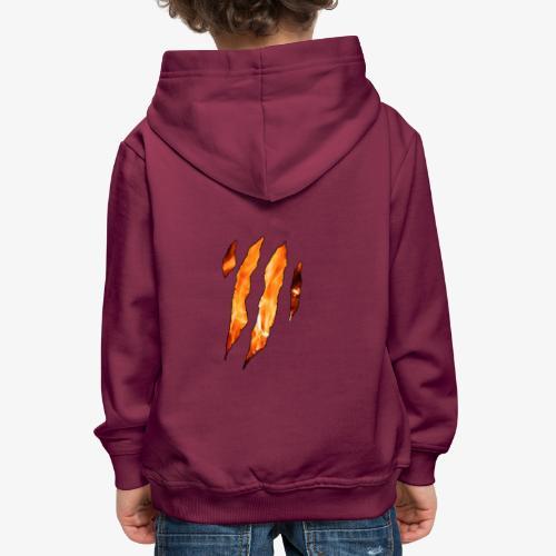 Feeling like Fire - Pull à capuche Premium Enfant