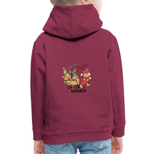 Bolderker - Kinderen trui Premium met capuchon