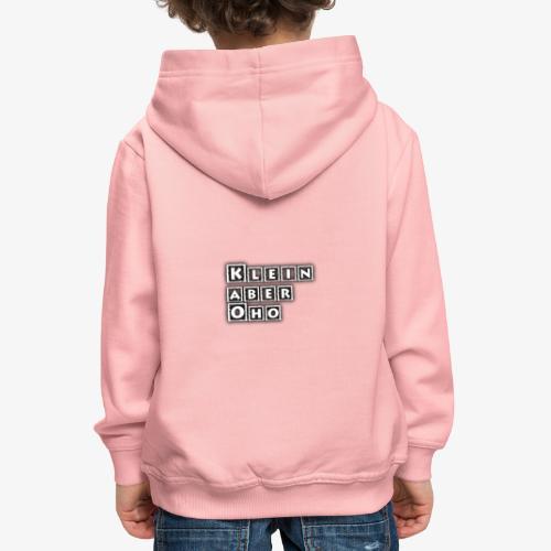 Kinder und Babykleidung mit Aufdruck - Kinder Premium Hoodie