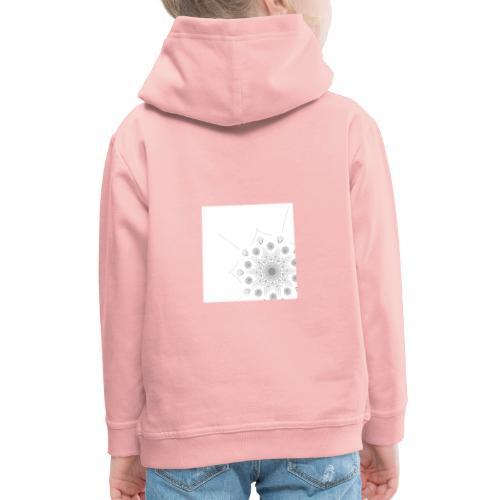 Schlicht und modernes Muster - Kinder Premium Hoodie