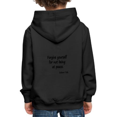 Forgive Yourself - Kids' Premium Hoodie