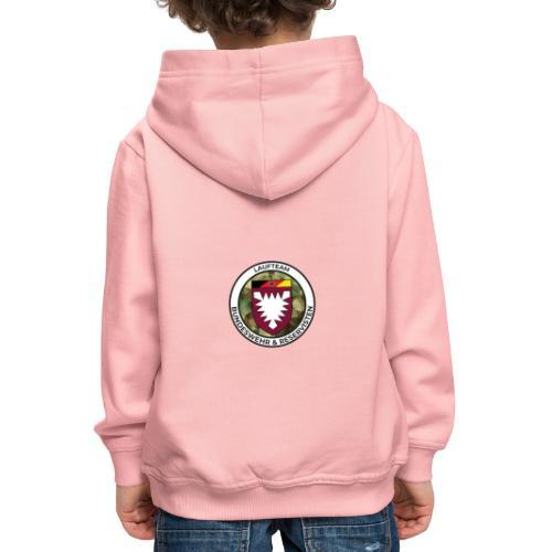 Logo des Laufteams - Kinder Premium Hoodie