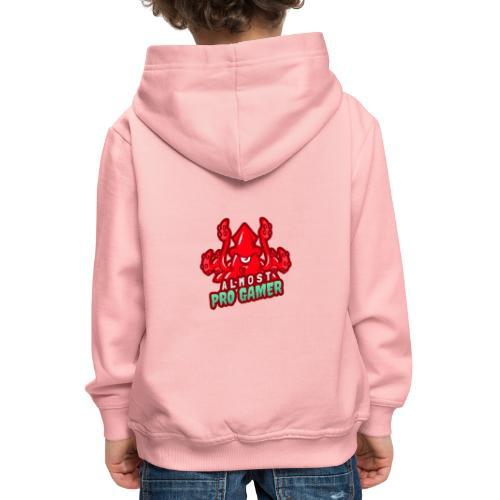 Almost pro gamer RED - Felpa con cappuccio Premium per bambini
