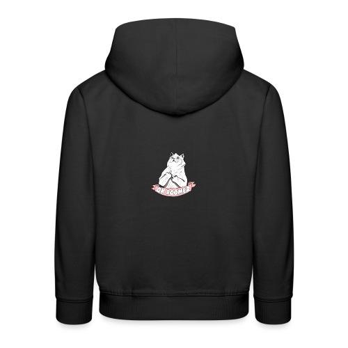 OK Boomer Cat Meme - Kids' Premium Hoodie