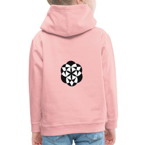 diseño de figuras geométricas - Sudadera con capucha premium niño