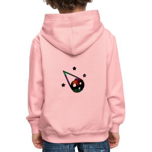 logo interestelar - Sudadera con capucha premium niño