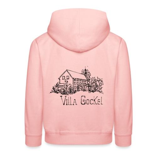 Villa Gockel schwarz - Kinder Premium Hoodie