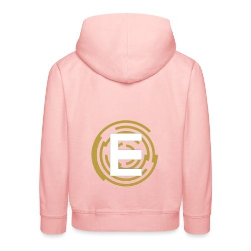 E-Campionato Semplice - Felpa con cappuccio Premium per bambini