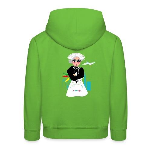 la grand mere Dousig - Pull à capuche Premium Enfant