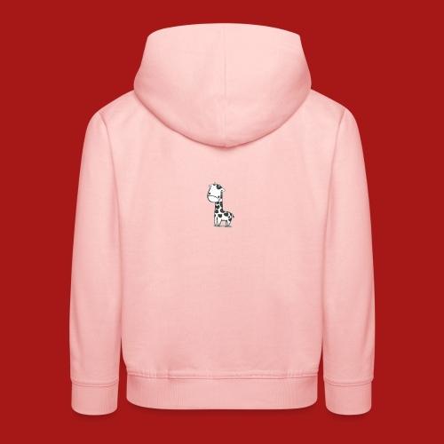CuteBaby Giraf - Premium hættetrøje til børn