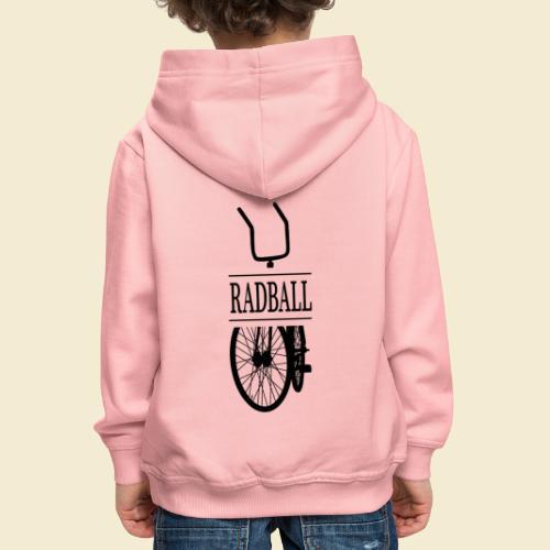 Radball | Retro Black - Kinder Premium Hoodie