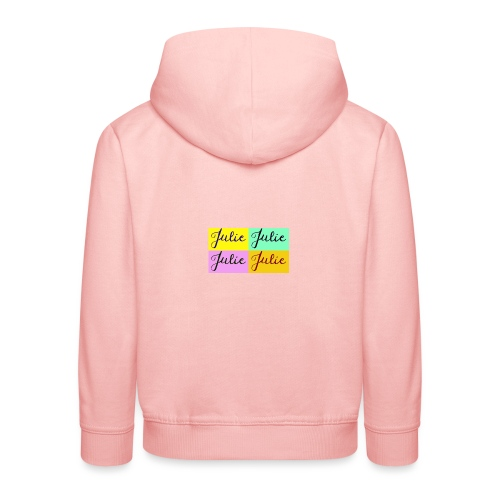 Julie Pop art - Pull à capuche Premium Enfant