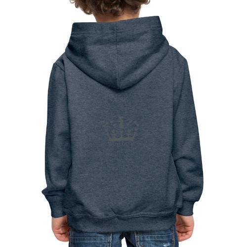 LD crown logo hearts png - Kids' Premium Hoodie