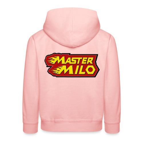maître Milo - Pull à capuche Premium Enfant