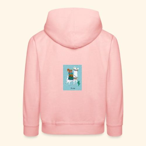 Lama Gang - Kinder Premium Hoodie