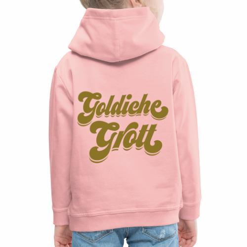 Goldiche Grott - Kinder Premium Hoodie