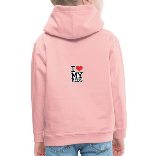 Love To Kids! - Premium hættetrøje til børn