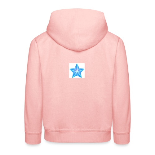 blue themed christmas star 0515 1012 0322 4634 SMU - Kids' Premium Hoodie