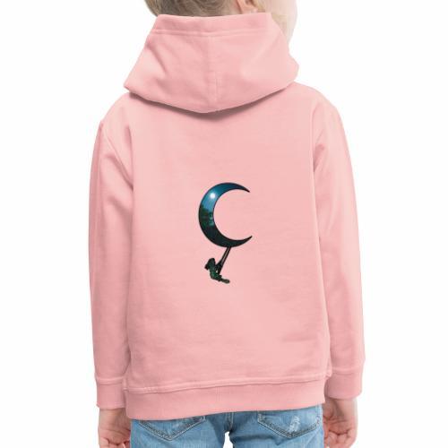 La Lune - J'peux pas j'ai la Lune ! - Pull à capuche Premium Enfant
