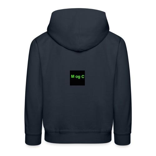 mogc - Premium hættetrøje til børn