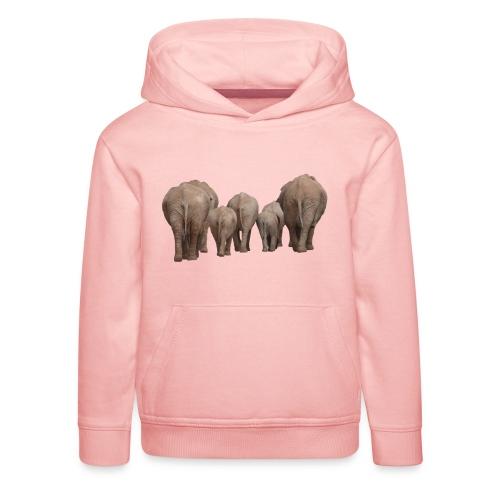 elephant 1049840 - Felpa con cappuccio Premium per bambini