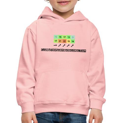 forecast - Sudadera con capucha premium niño