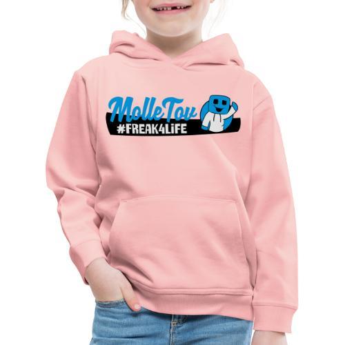 Nyt Logo4 - Premium hættetrøje til børn