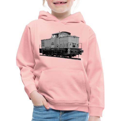 V 60 Diesel Lokomotive Rangierlok Reichsbahn DDR - Kinder Premium Hoodie