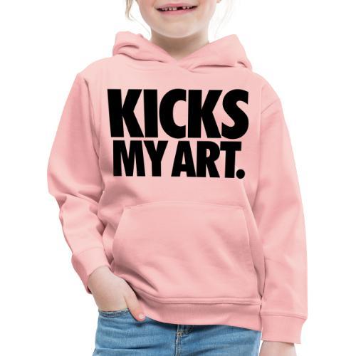 Kicks My Art By MizAl - Bluza dziecięca z kapturem Premium
