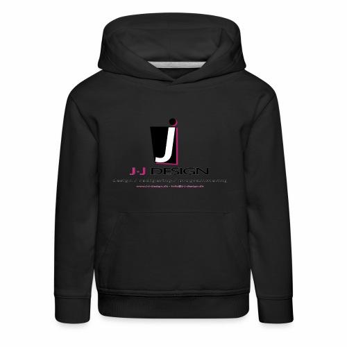 LOGO_J-J_DESIGN_FULL_for_ - Premium hættetrøje til børn