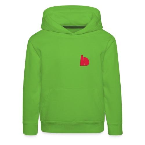 One two - Premium hættetrøje til børn