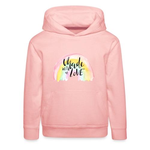 Made with Love Rainbow Baby - Kinder Premium Hoodie
