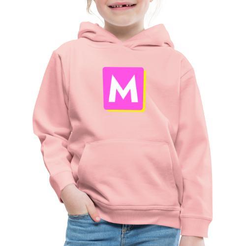 ByMINA logo - Premium hættetrøje til børn
