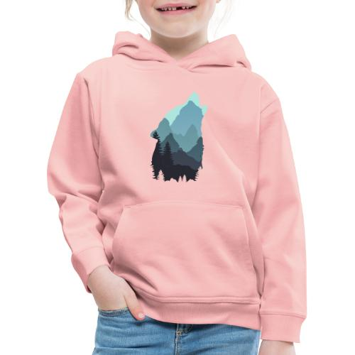 Wolf - Kids' Premium Hoodie