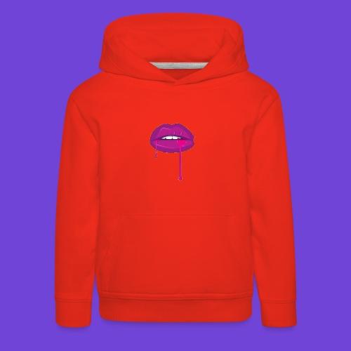 Purple Kiss - Felpa con cappuccio Premium per bambini