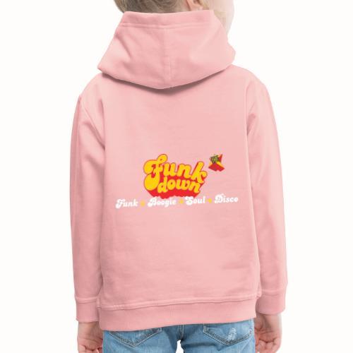 FunkDown Official Merchandise (med genrer) - Premium hættetrøje til børn