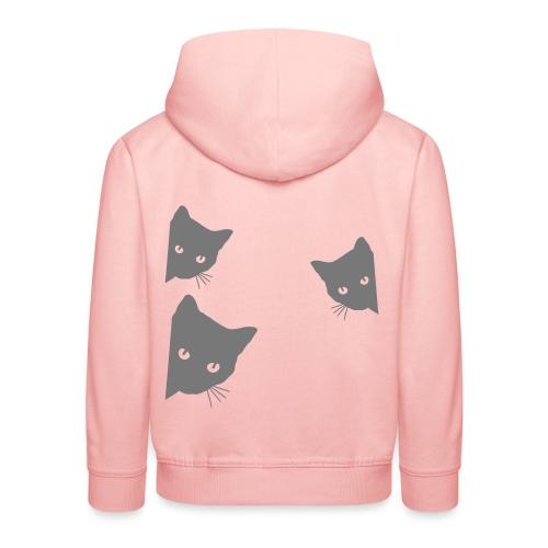Vorschau: cats - Kinder Premium Hoodie