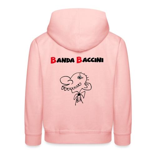 Banda Baccini. - Felpa con cappuccio Premium per bambini