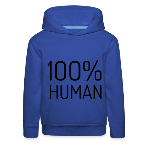 100% Human - Kinderen trui Premium met capuchon