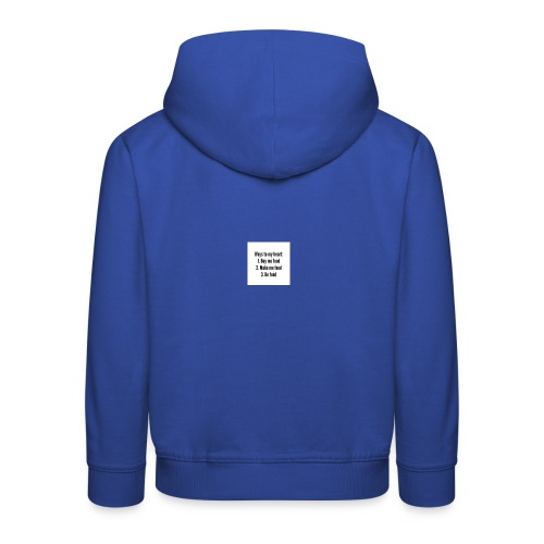 Ways to my funny quotes about food heart buy me fo - Kids' Premium Hoodie
