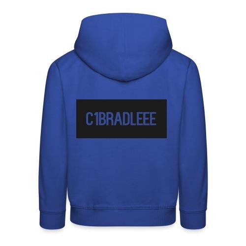 C1bradleee Text Logo - Kids' Premium Hoodie