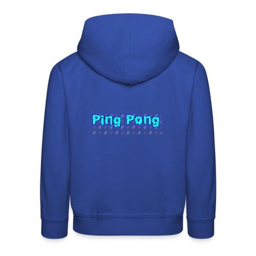Ping-Pong - Premium-Luvtröja barn