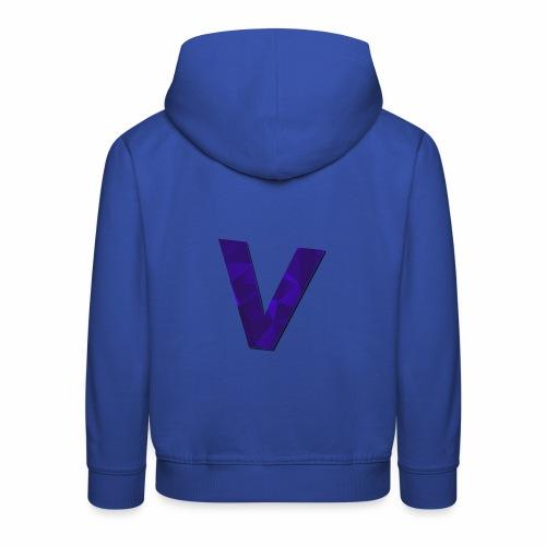 Vince Logo Letter - Kinderen trui Premium met capuchon