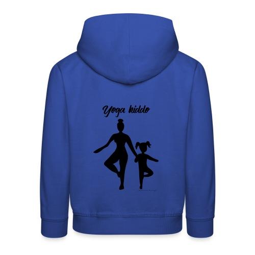 Yoga kiddo (en duo avec Yoga mama) - Pull à capuche Premium Enfant