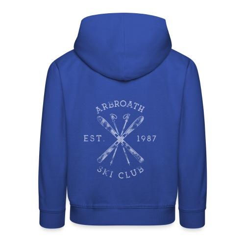 Arbroath Ski Club light image - Kids' Premium Hoodie