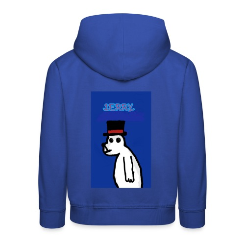 Jerry with tophat - Kids' Premium Hoodie