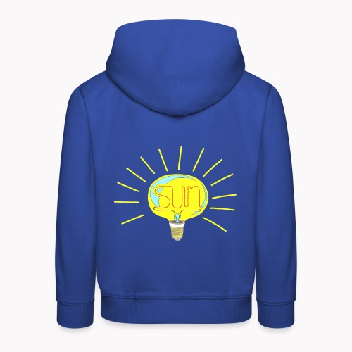 Lumière du soleil - Pull à capuche Premium Enfant