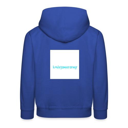 Kohlegamerarmy - Kinder Premium Hoodie