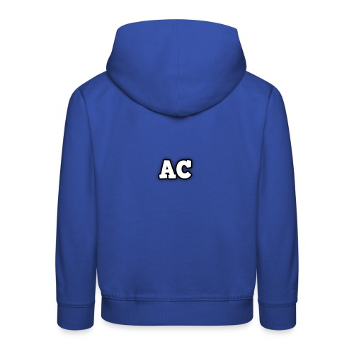 AC blur logo - Kids' Premium Hoodie